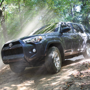 What makes Toyota 4Runner a good choice for off-roading?